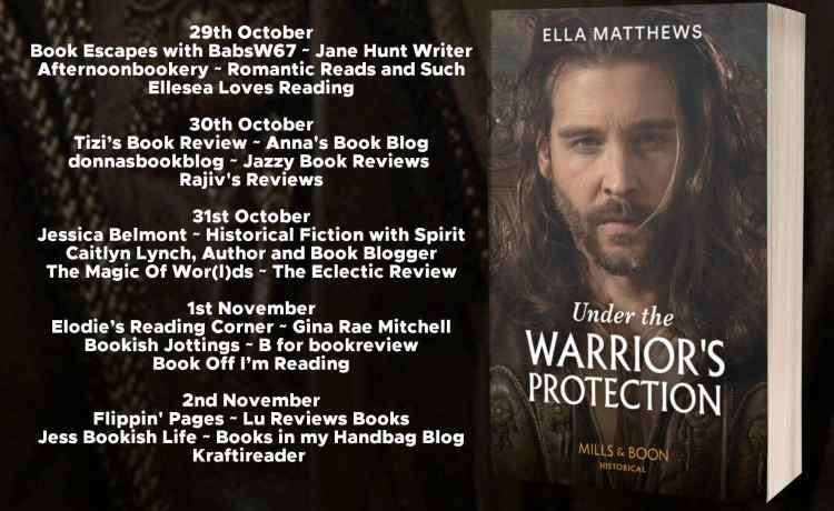 Under The Warriors Protection Full Tour Banner