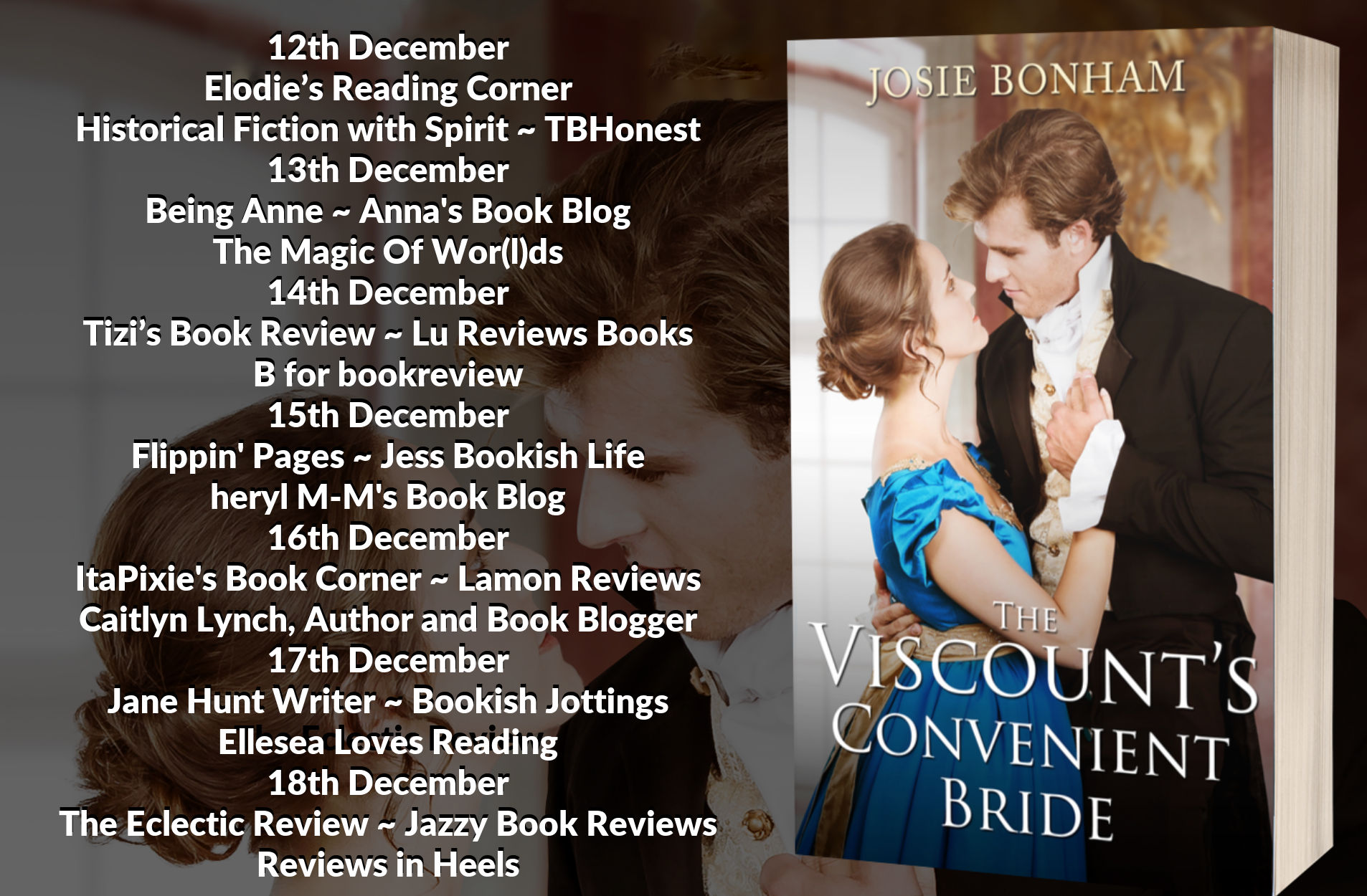 The Viscounts Convenient Bride Full Tour Banner