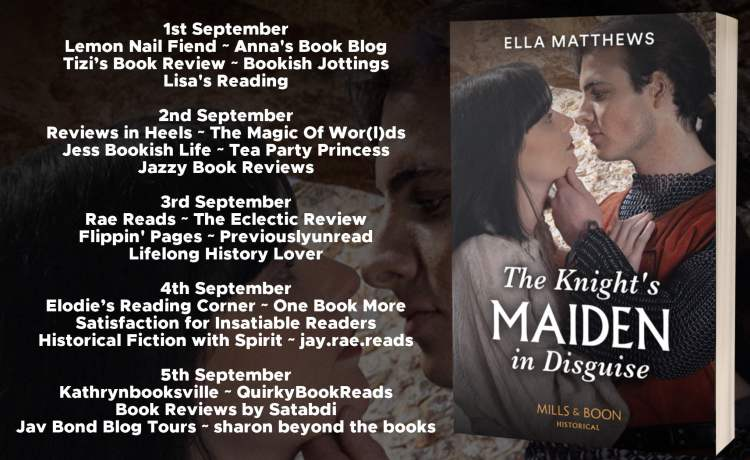 The Knigths Maiden in Disguise Full Tour Banner
